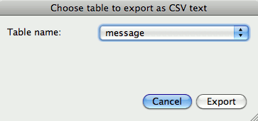 iPhone-Export-CSV-File