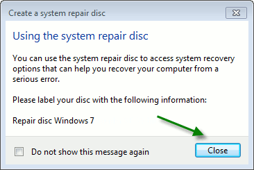 System-Repair-Disc-Label