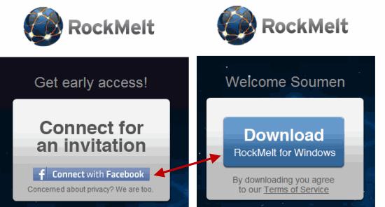 Rockmelt Download