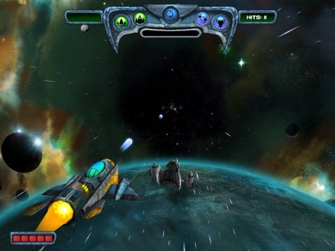 Sun Blast invasion screenshot