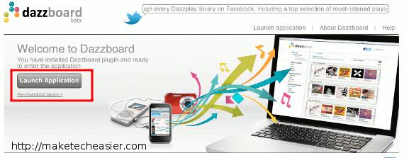 syncandroid-dazzboard-launch-app
