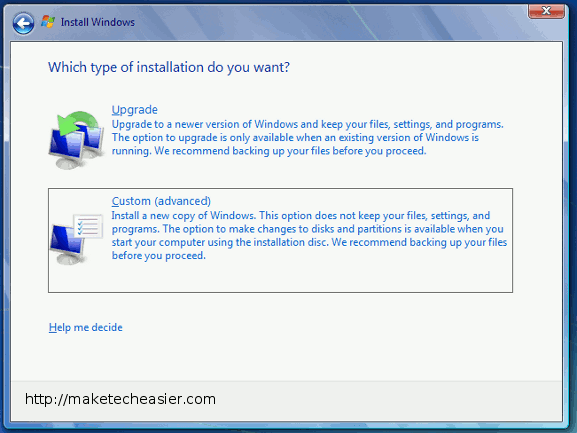 windows-custom-installation