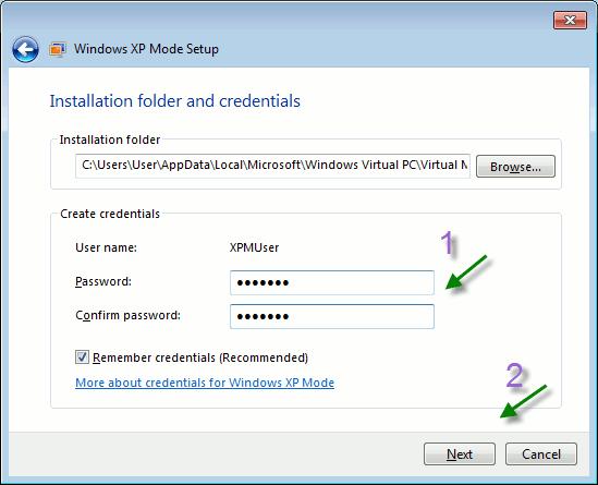 xpmode-folder-credentials