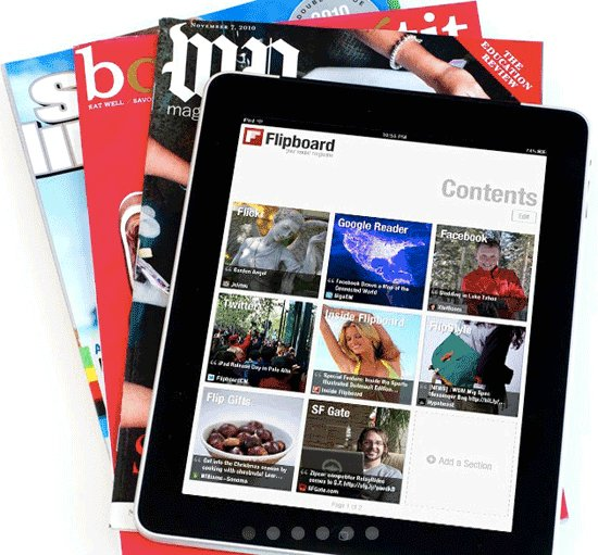 Flipboard Magazine Viewer