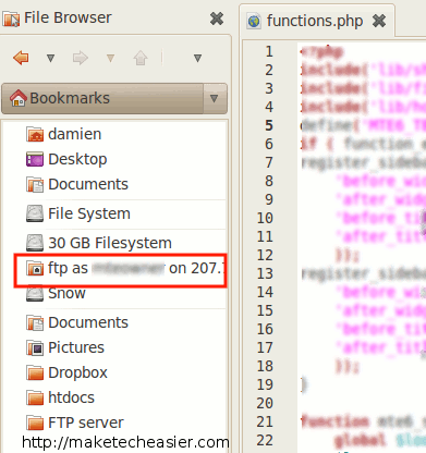 gedit-connect-ftp-server