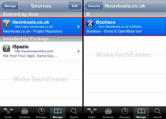 iPhone-Cydia-Neonkoala-Bootlace