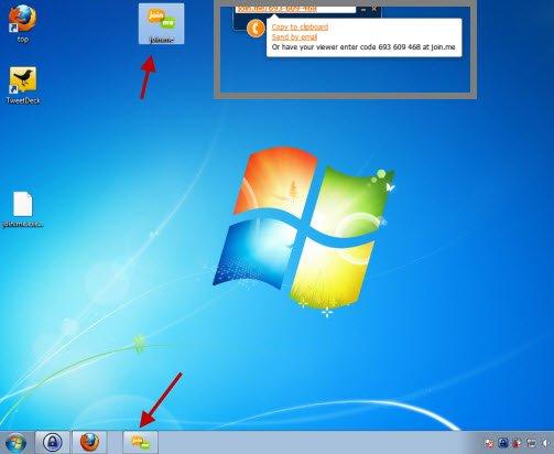 Join.me Desktop Widget