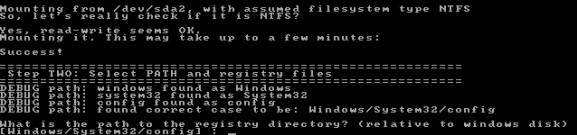 pwd-Windows-System32-Config
