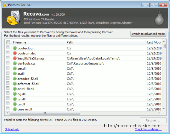 recuvaportable-Deleted-Files