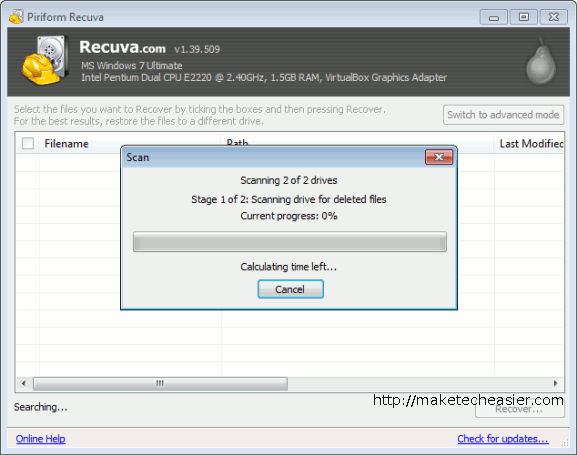 recuvaportable-Start-Process