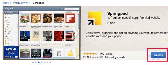 webstore-install-app