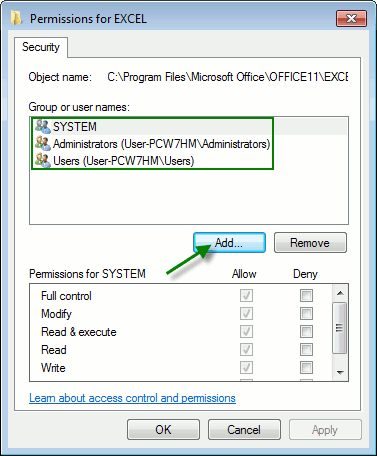 win-Permissions-For-Excel