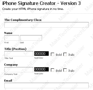 Fill-Up-Information-Email-Signature