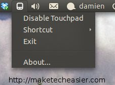 appindicator-touchpad