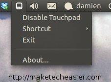 appindicator-touchpad