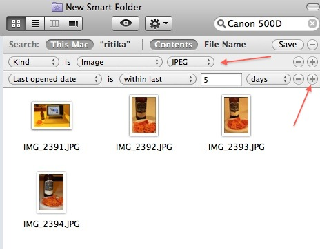Complex rules with Smart Folders