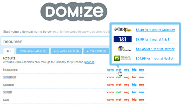 domize-domain-names
