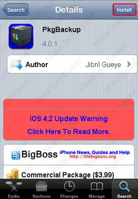 iPhone-Cydia-Install-PkgBackup