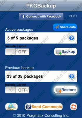 iPhone-PkgBackup-Start-Restore