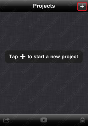 iPhone-iMovie-Start-New-Project