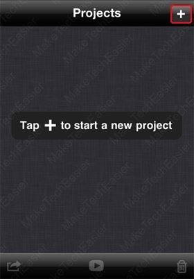 iPhone-iMovie-Start-New-Project