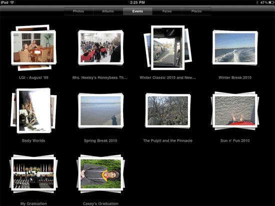 ipad-photos-albums-events-selection