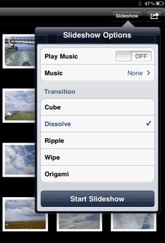 ipad-slideshow-options