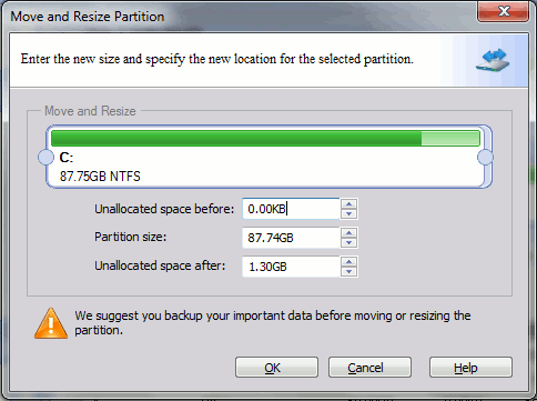 pa-resize-partition