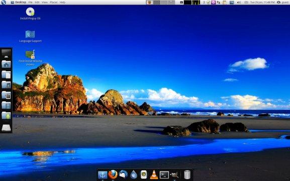 pinguy-desktop
