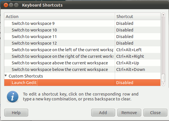 remap-key-gnome-new-shortcut-disabled