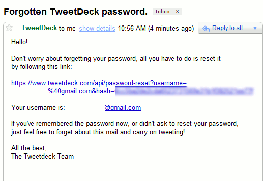 how to make your own email address and password