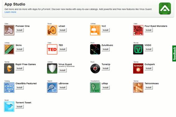 utorrent-applist