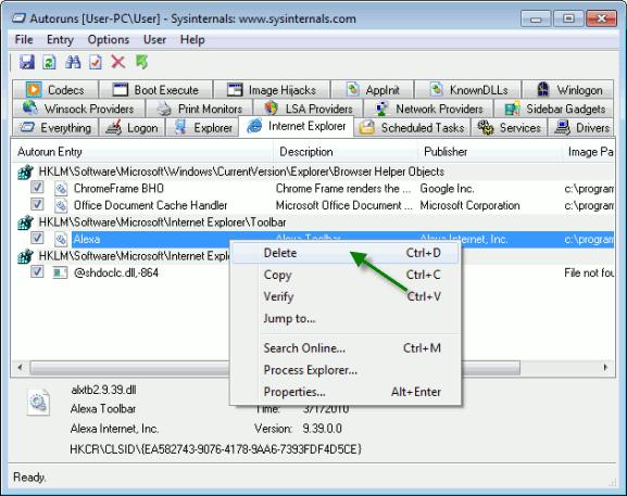 win7ie-autoruns-internet-explorer-toolbar-delete