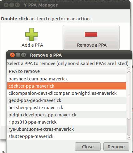 yppa-remove-ppa