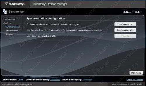 Blackberry-Desktop-Manager-Sync