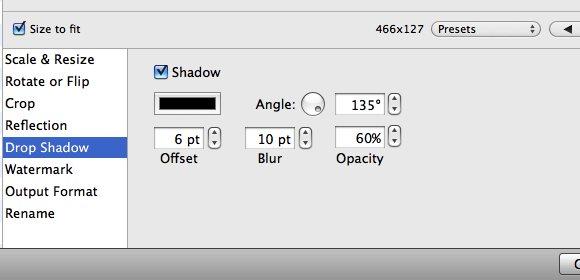 ResizeMe - Drop Shadow