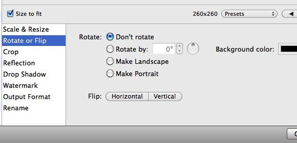 ResizeMe - Rotate or Flip