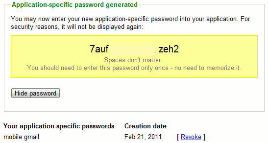 google-apppassword