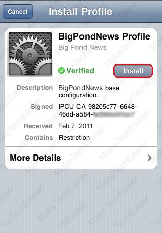 iPhone-Install-Configuration-Profile