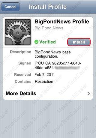 iPhone-Install-Configuration-Profile