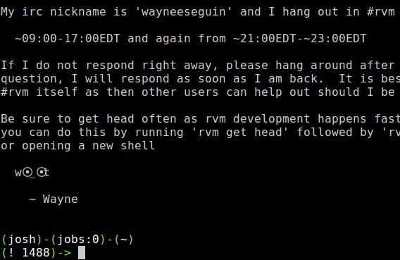 rvm-installationscript
