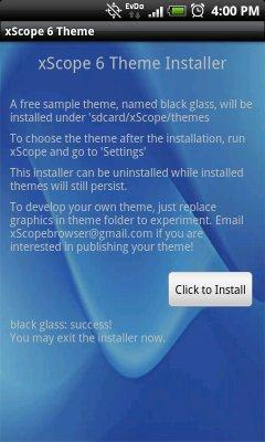 xscope-theme-installer