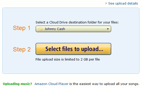 cloudplayer-uploadcdrive