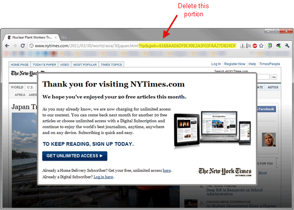 nytimes-testpage