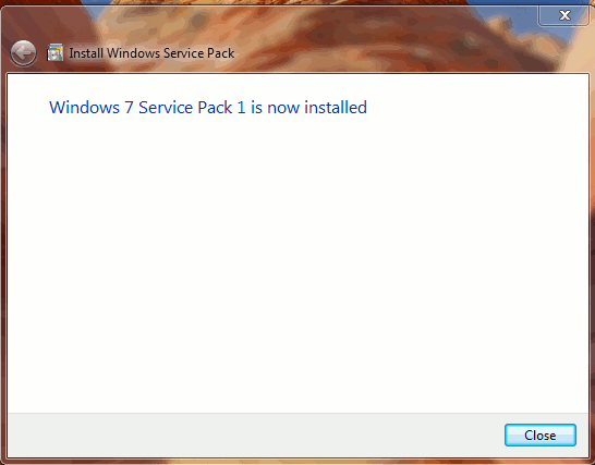 servicepack-install-complete