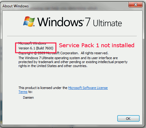 servicepack-not-installed