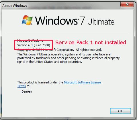 servicepack-not-installed