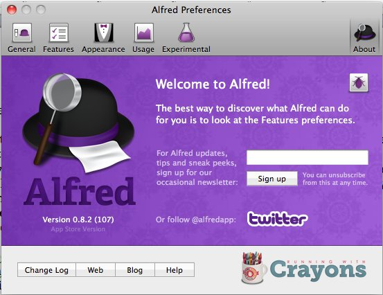 Alfred-main-preferences