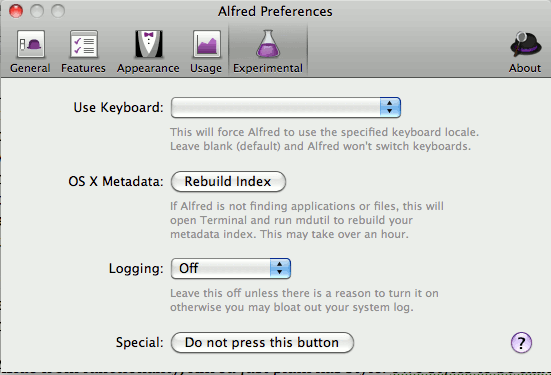 Alfred-rebuild-screen