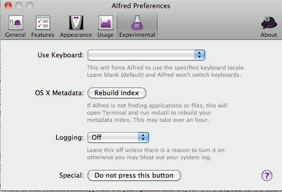Alfred-rebuild-screen